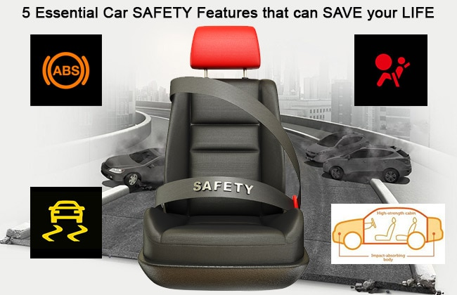 5 essential car safety features that can save your life
