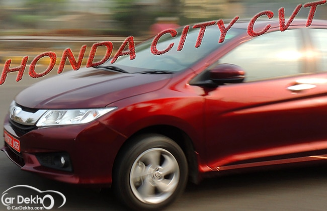 The CVT Puzzle- solved by Honda City