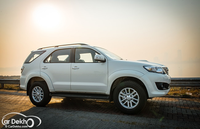 2014 Ford Endeavour with Toyota Fortuner and Mitsubishi Pajero Sport