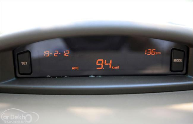 Drive with fuel efficiency in mind