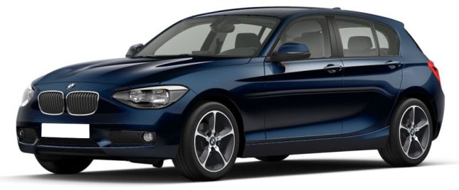 Deep Sea Blue   BMW  பிஎம்டபிள்யூ 1-சீரீஸ்