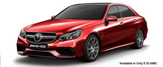 Hyacinth Red 63 AMG Variant मसेर्डीज-बेंज ई-क्लास