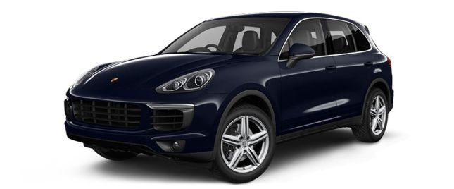 Moonlight Blue Metallic போர்ஸ் Cayenne