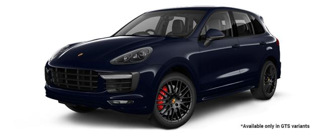 Moonlight Blue Metallic GTS Variant போர்ஸ் Cayenne