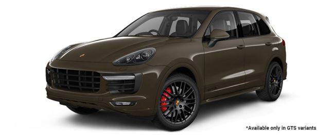 Umber Metallic GTS Variant போர்ஸ் Cayenne