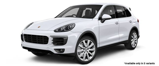 Carrara White Metallic S Variant போர்ஸ் Cayenne