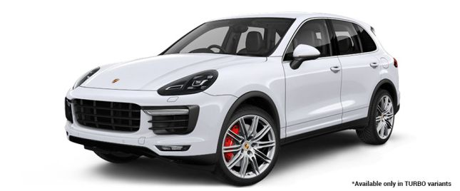 Carrara White Metallic Turbo Variant போர்ஸ் Cayenne