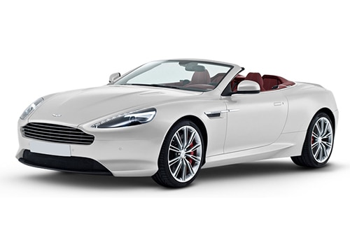 Aston Martin DB9 Morning Frost White Color