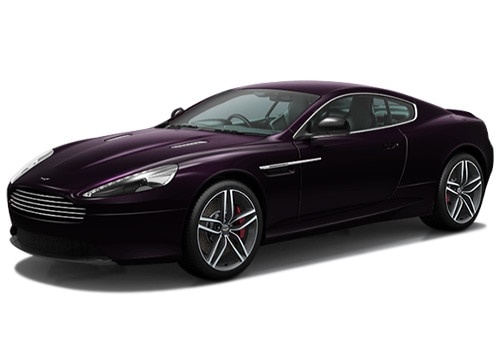 Aston Martin DB9 Amethyst Red Color Picture