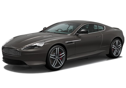 Aston Martin DB9 Grey Color Pictures