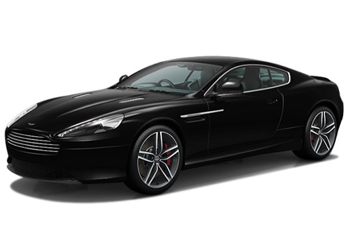 Aston Martin DB9 Jet Black Color