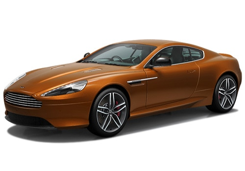 Aston Martin DB9 Orange Color Pictures
