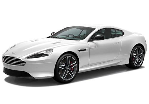 Aston Martin DB9 WHITE Color Pictures