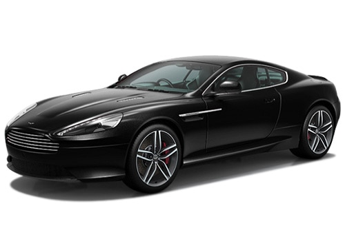 Aston Martin DB9 black Color Pictures