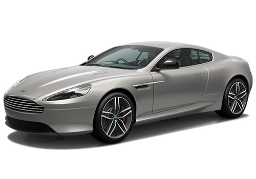 Aston Martin DB9 Silver Blonde Color