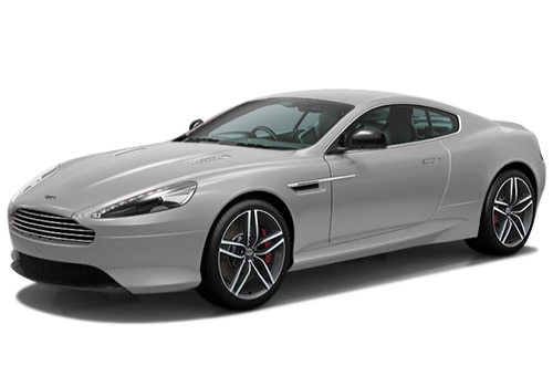 Aston Martin DB9 Silver Fox Color