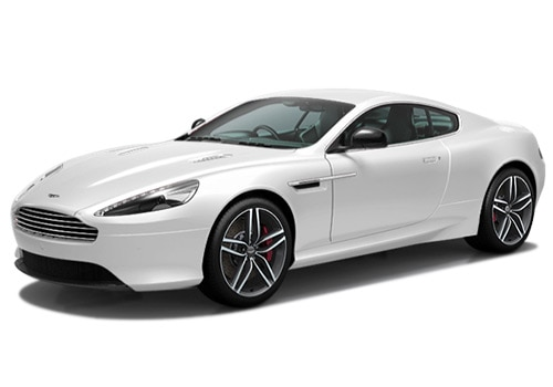 Aston Martin DB9 Startus White Color