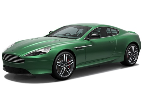 Aston Martin DB9 Viridian Green Color