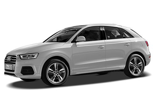 Audi Q3 Floret Silver Metallic Color
