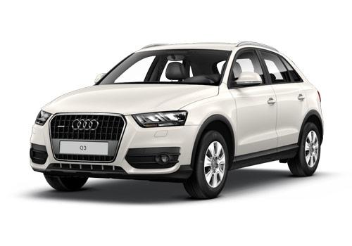 Audi Q3 Amalfi White Color