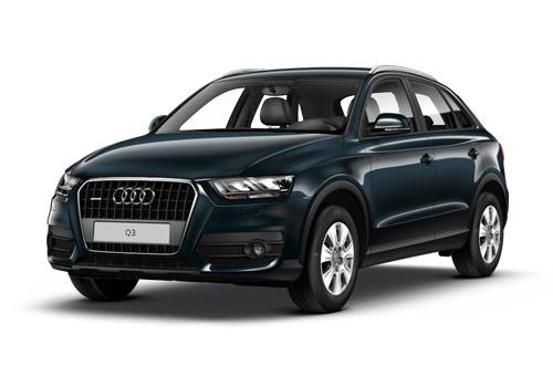 Audi Q3 Cobalt Blue Metallic Color