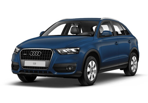 Audi Q3 Cobalt Blue Metallic Color