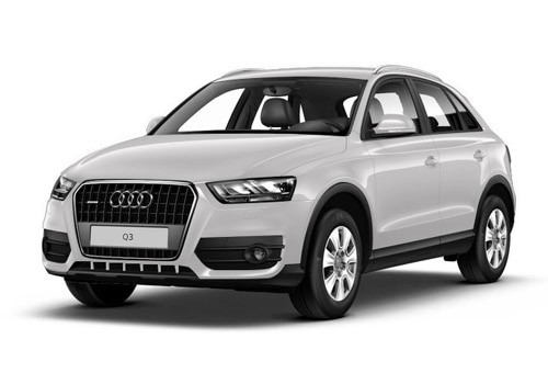 Audi Q3 Glacier white Metallic Color