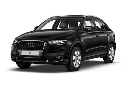 Audi Q3 Phantom Black Pearl Effect Color