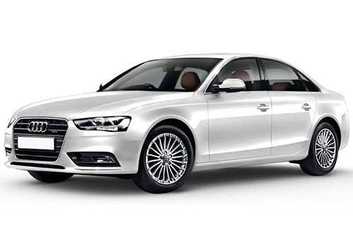 Audi S4 Glacier white Metallic Color