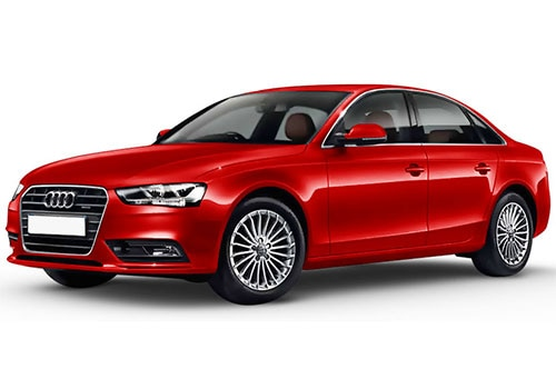 Audi S4 Misano Red Pearl Effect Color