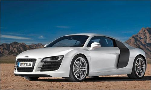 Audi R8 4.2 FSI quattro. Click images to Enlarge