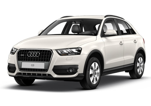 Audi Q3 Amalfi White Color Picture