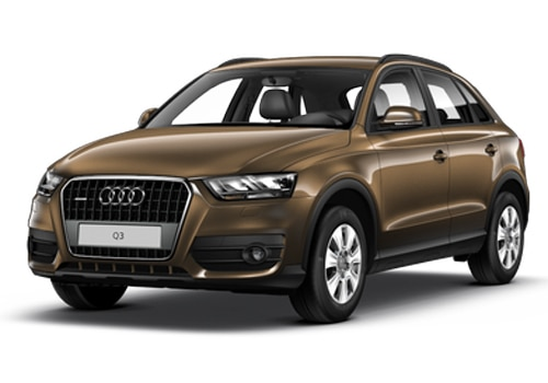 Audi Q3 Brown Color Pictures