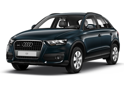 Audi Q3 Metallic Blue Color Pictures