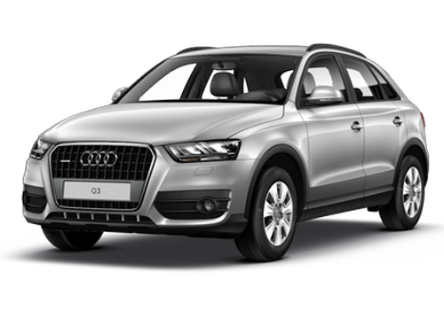 Audi Q3 Silver Metallic Color Pictures