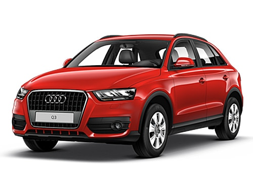 Audi Q3 Red Color Pictures