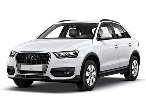 Audi Q3 White Metallic Color Pictures