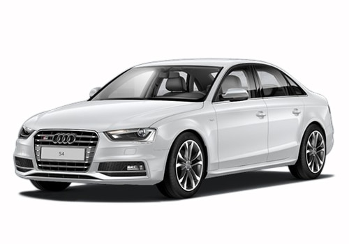Audi S4 White Metallic Color Pictures