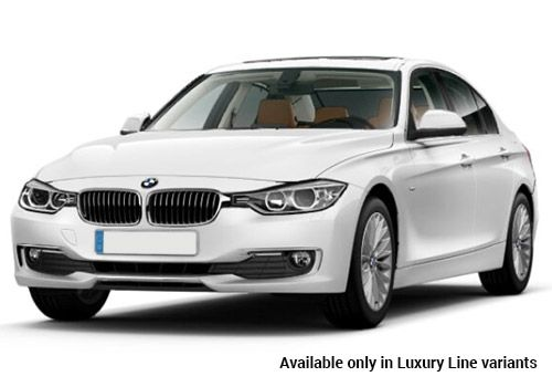BMW 3 Series Alpine White Luxury-Line variant Color