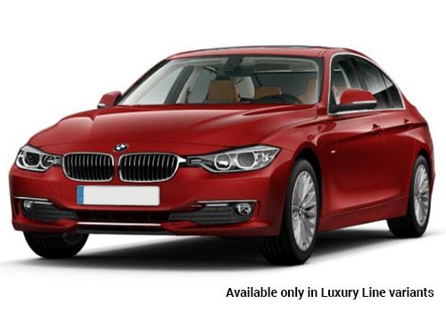 BMW 3 Series Melbourne Red Luxury-Line variant Color