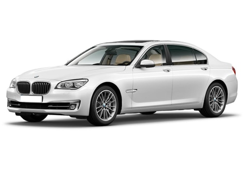 BMW 7 Series Alpine White Color