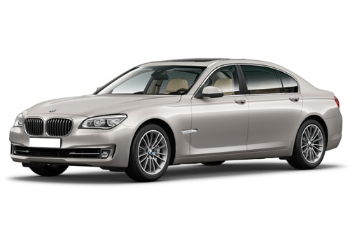 BMW 7 Series Cashmere Silver Color