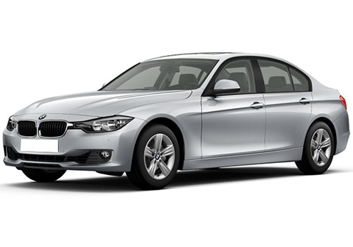 BMW 3 Series Glacier White Color Picture