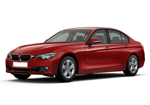 BMW 3 Series Red Color Pictures