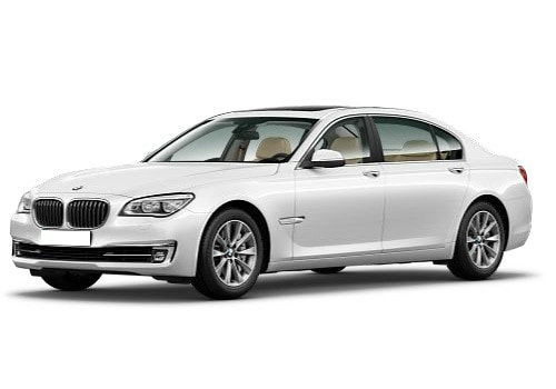 BMW 7 Series Alpine White Color Picture