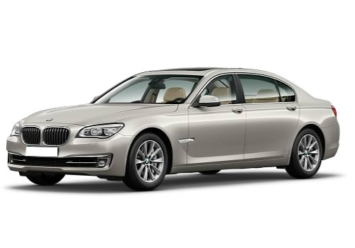 BMW 7 Series Silver Color Pictures