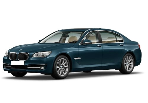 BMW 7 Series Blue Color Pictures