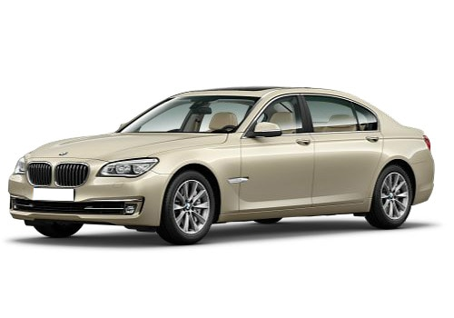 BMW 7 Series Beige Color Pictures