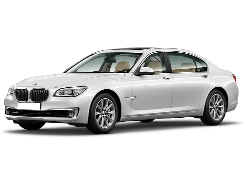 BMW 7 Series White Color Pictures