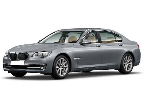 BMW 7 Series Grey Color Pictures